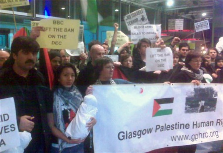 Britain BBC Gaza