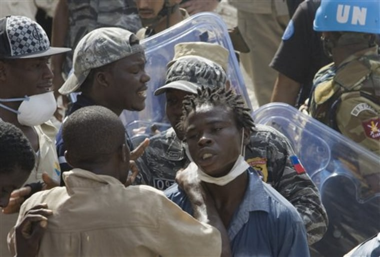 Haiti School Collapse