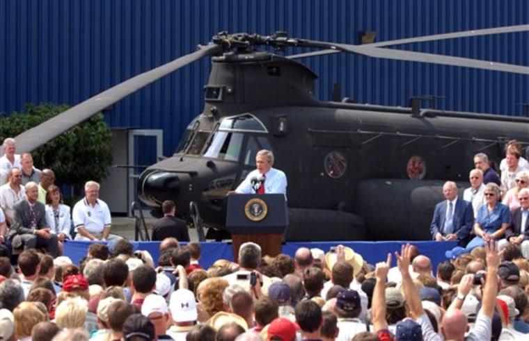 Boeing Shutdown Chinook
