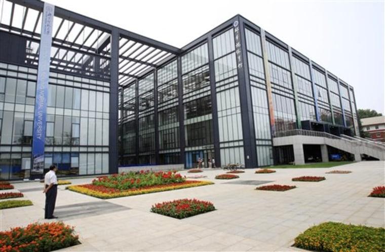 China Olympics US Training Center