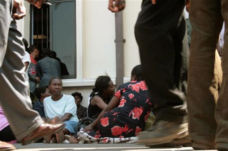 APTOPIX ZIMBABWE HARD CURRENCY