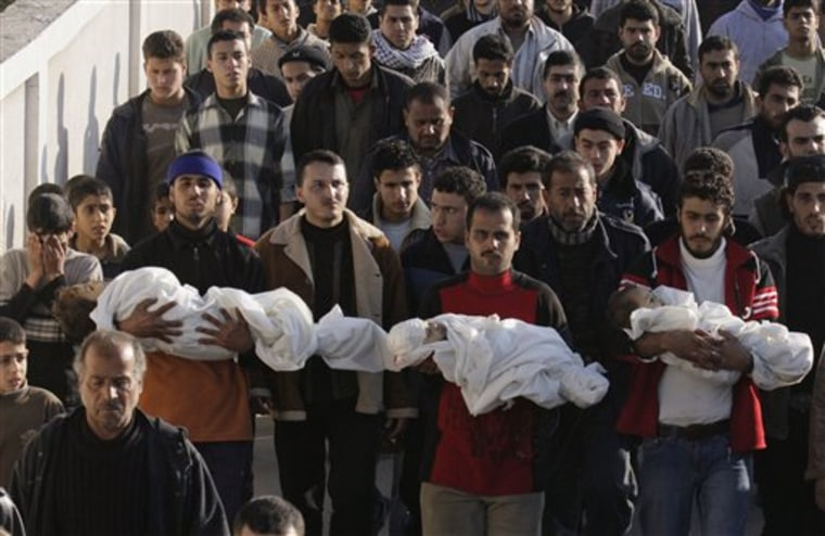 Palestinians Young Victims