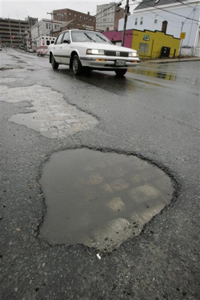 Plentiful Potholes