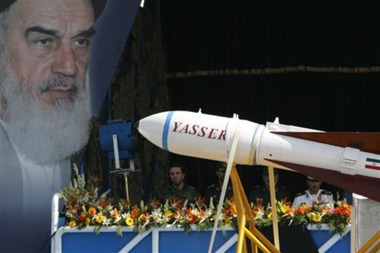 Mideast Iran Nuclear Military Parade