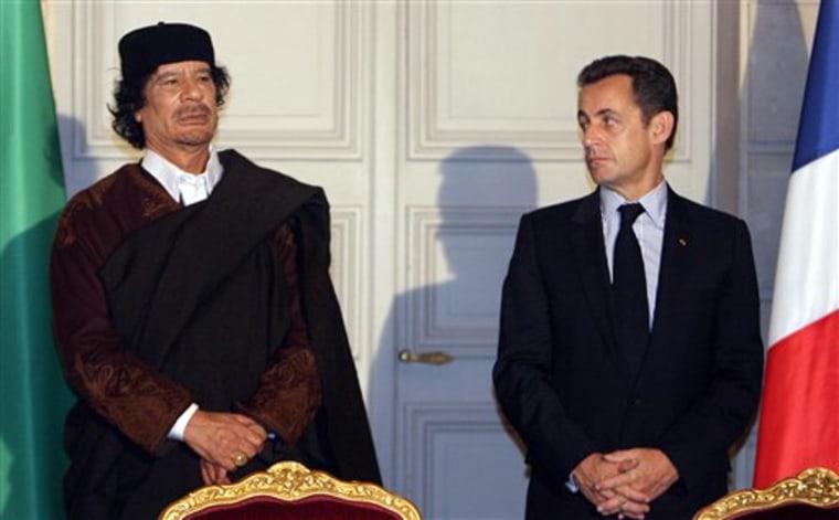 FRANCE LIBYA GADHAFI