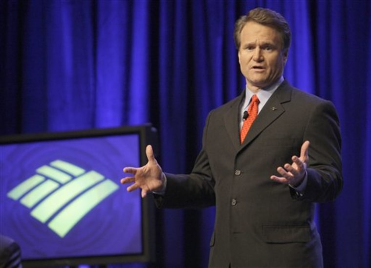 Bank of America CEO