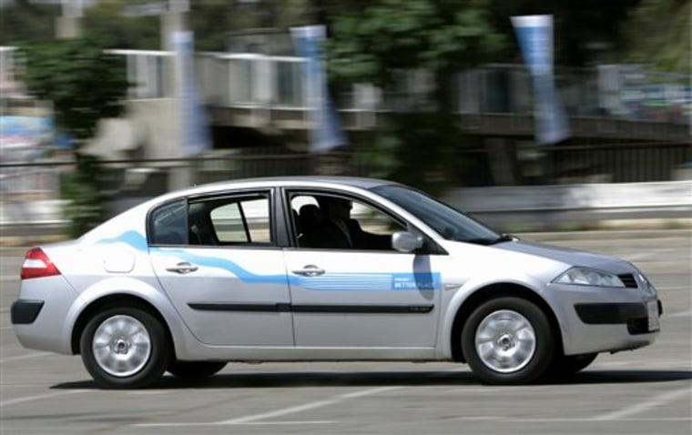 MIDEAST ISRAEL ELECTRIC CAR