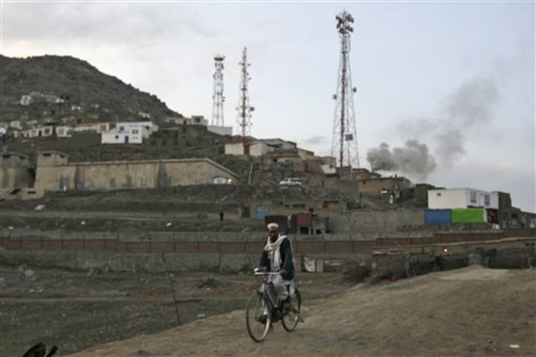 Afghanistan Tower Attacks