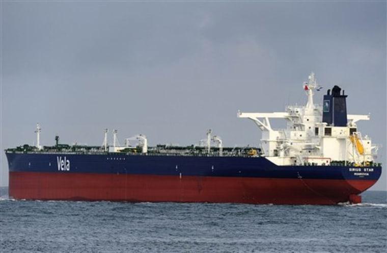 Piracy Tanker Hijacked