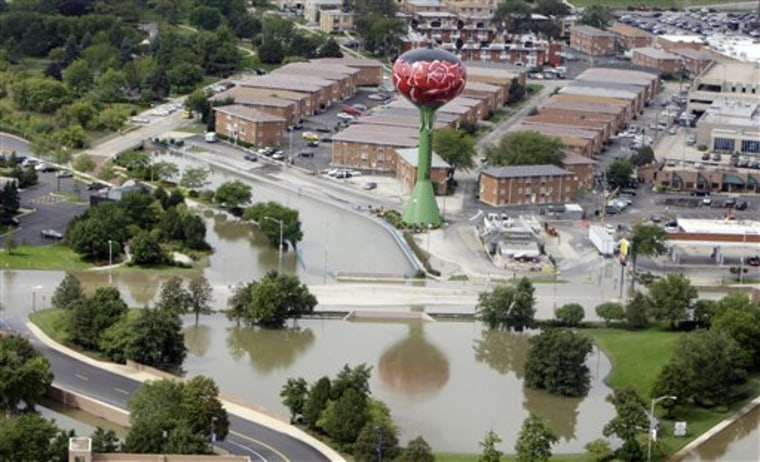 Severe Weather Disaster Areas