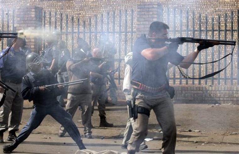 APTOPIX South Africa Immigrant Attacks
