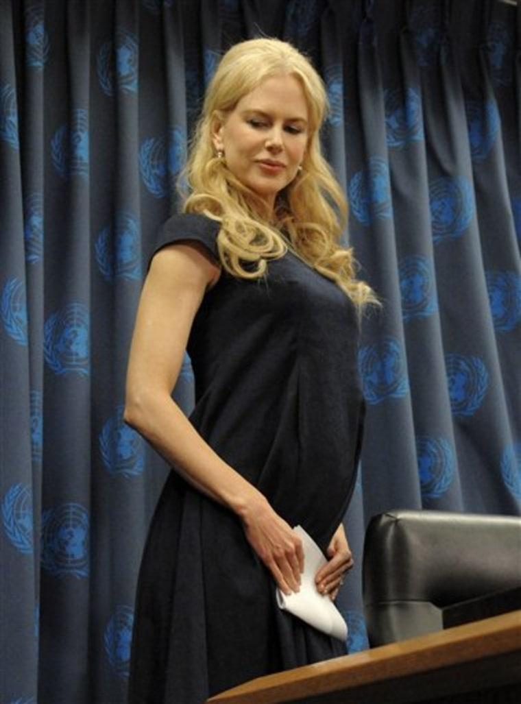 Nicole Kidman UNIFEM