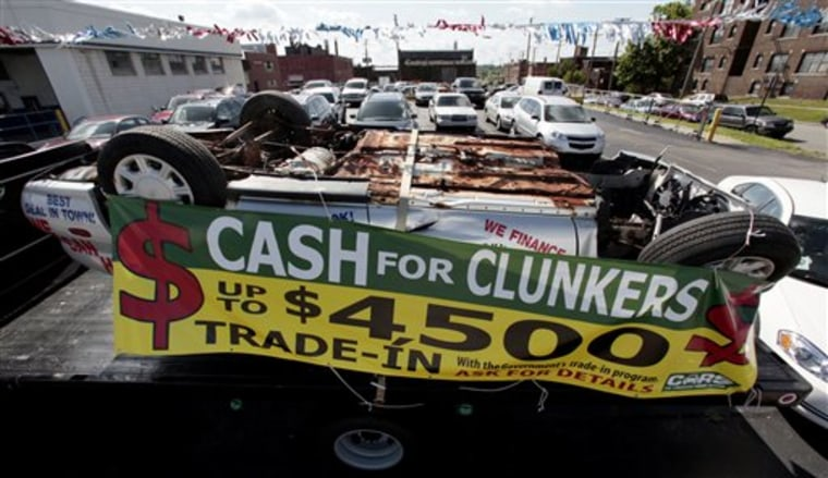 Clunkers Final Push