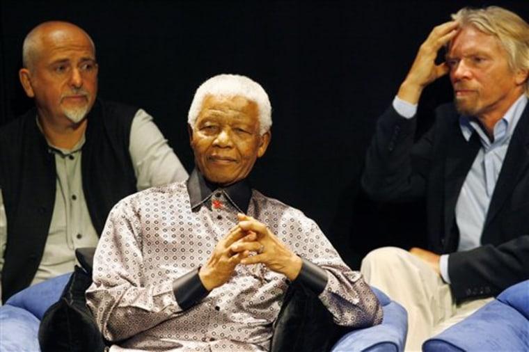 SOUTH AFRICA MANDELA'S BIRTHDAY