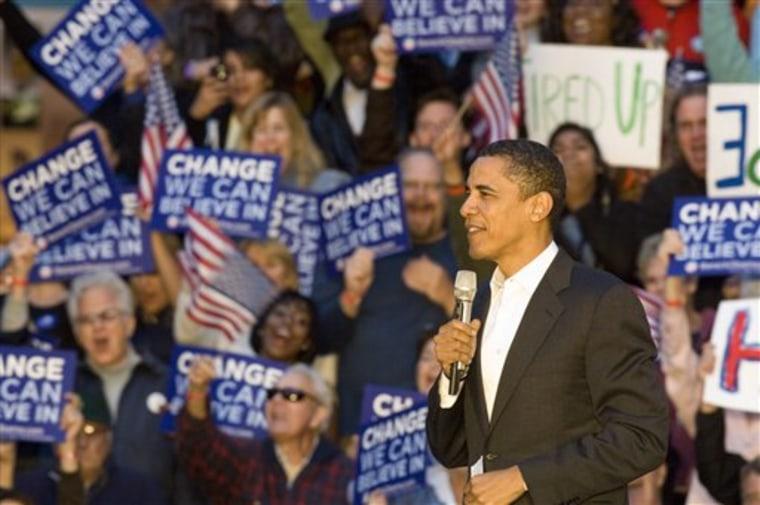 Obama 2008 Oregon