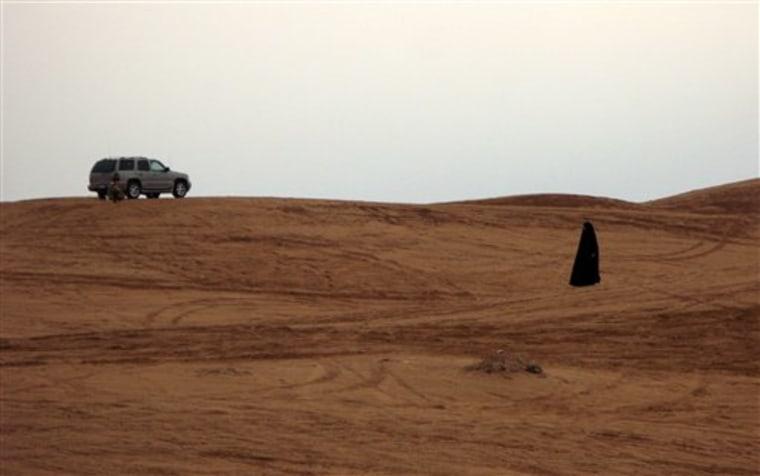 Mideast Saudi Arabia Driving Anniversary
