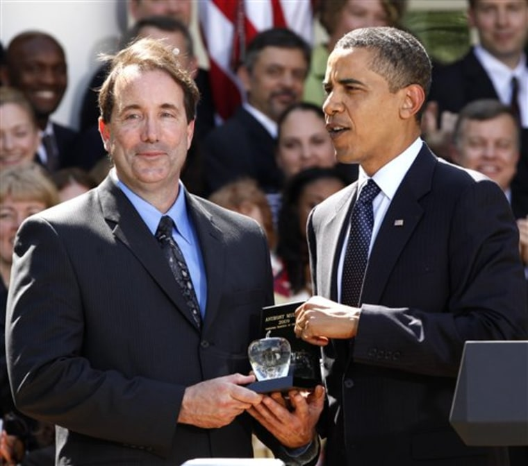 Obama Teacher of the Year