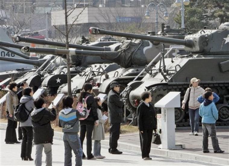 Southy Korea North Korea Missile