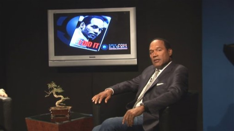 O.J. Simpson's book is a ghostwritten, hypothetical account of the murders of Nicole Brown Simpson and Ronald Goldman.