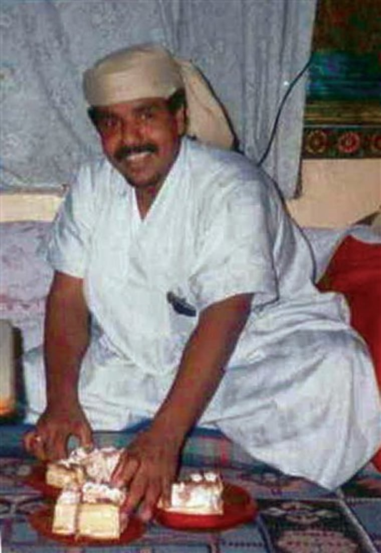 CORRECTION Guantanamo Bin Laden's Driver