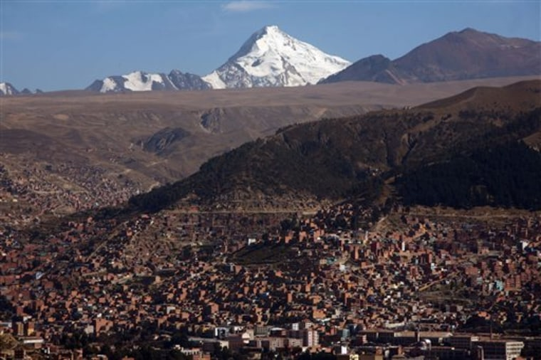 Warming World-Andes Water