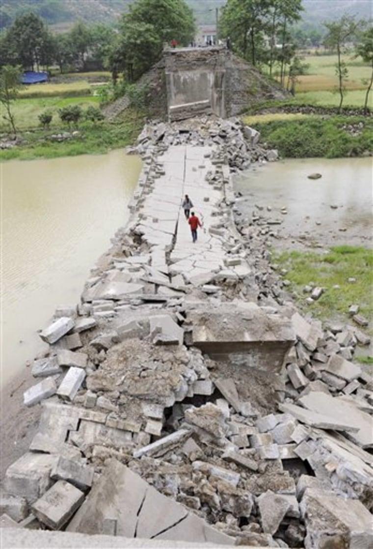 China Earthquake City