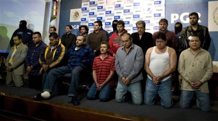 Mexico Drug Arrests