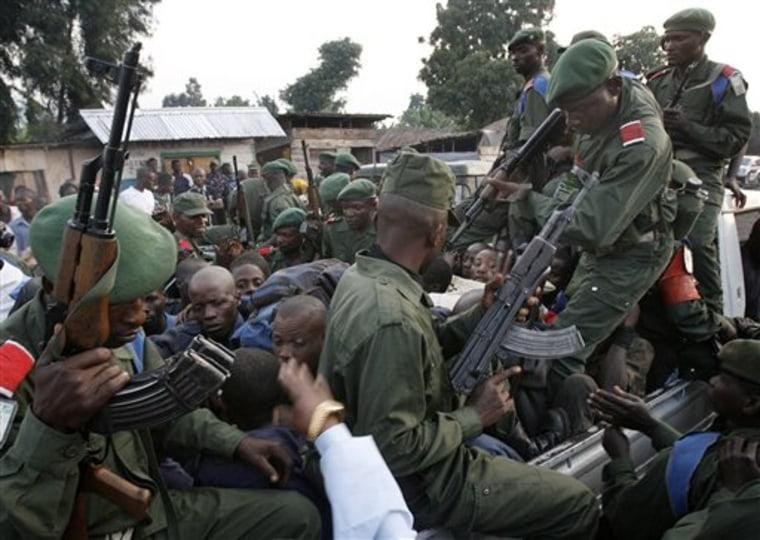CORRECTION APTOPIX CONGO FIGHTING