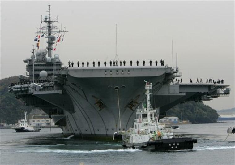 Japan US Warship