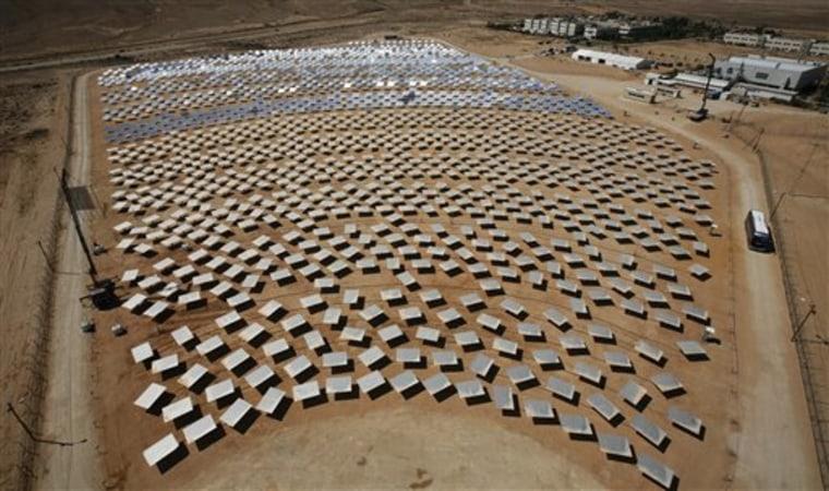 MIDEAST ISRAEL SOLAR ENERGY
