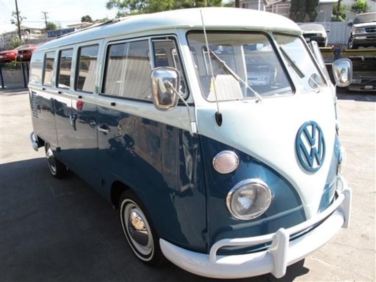 Recovered Van