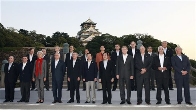 Japan G8 Finance Meeting