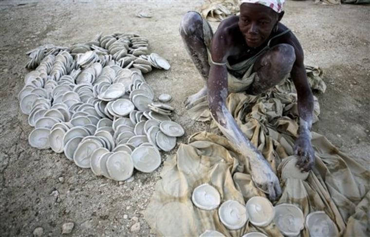 Haiti Eating Dirt