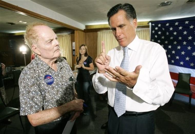 Romney Iowaa Machine
