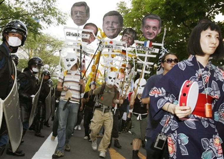 Japan G8 Protest
