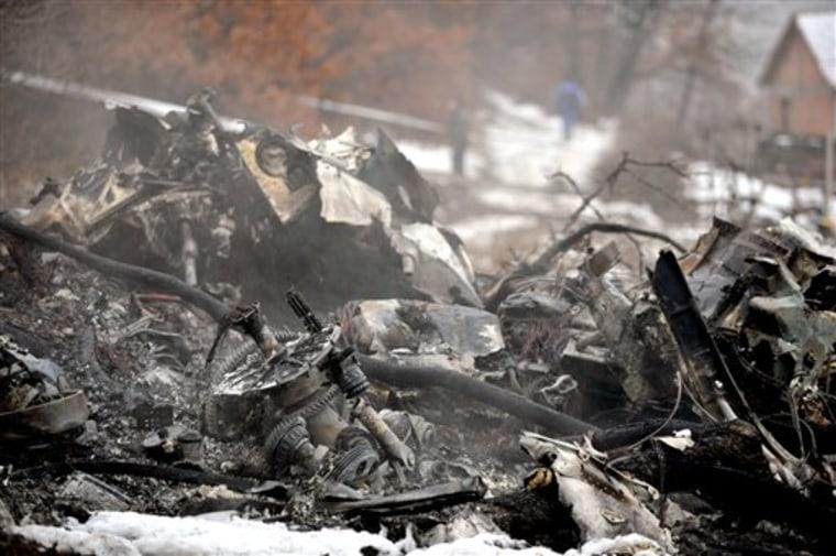 MACEDONIA ARMY HELICOPTER CRASH