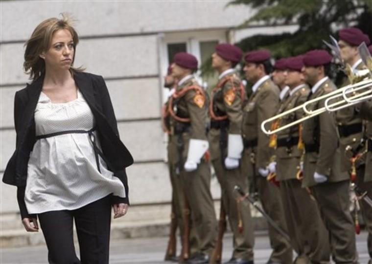 APTOPIX Spain Government