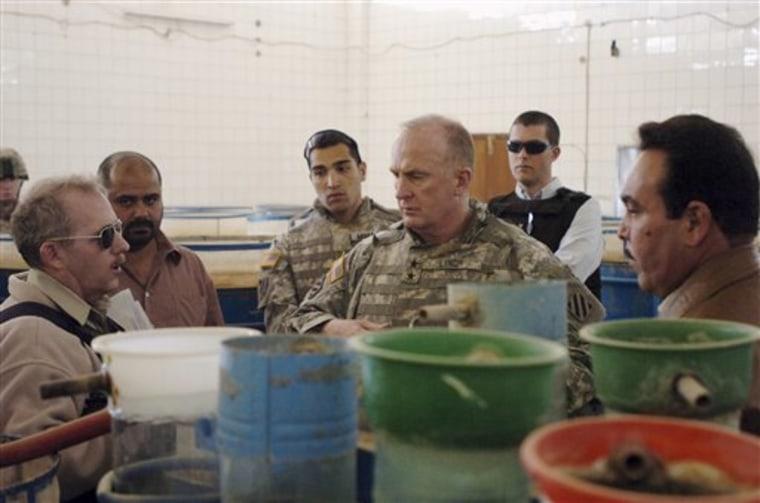 Iraq Rebuilding Economy