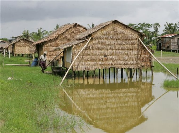 Myanmar Cyclones Wake