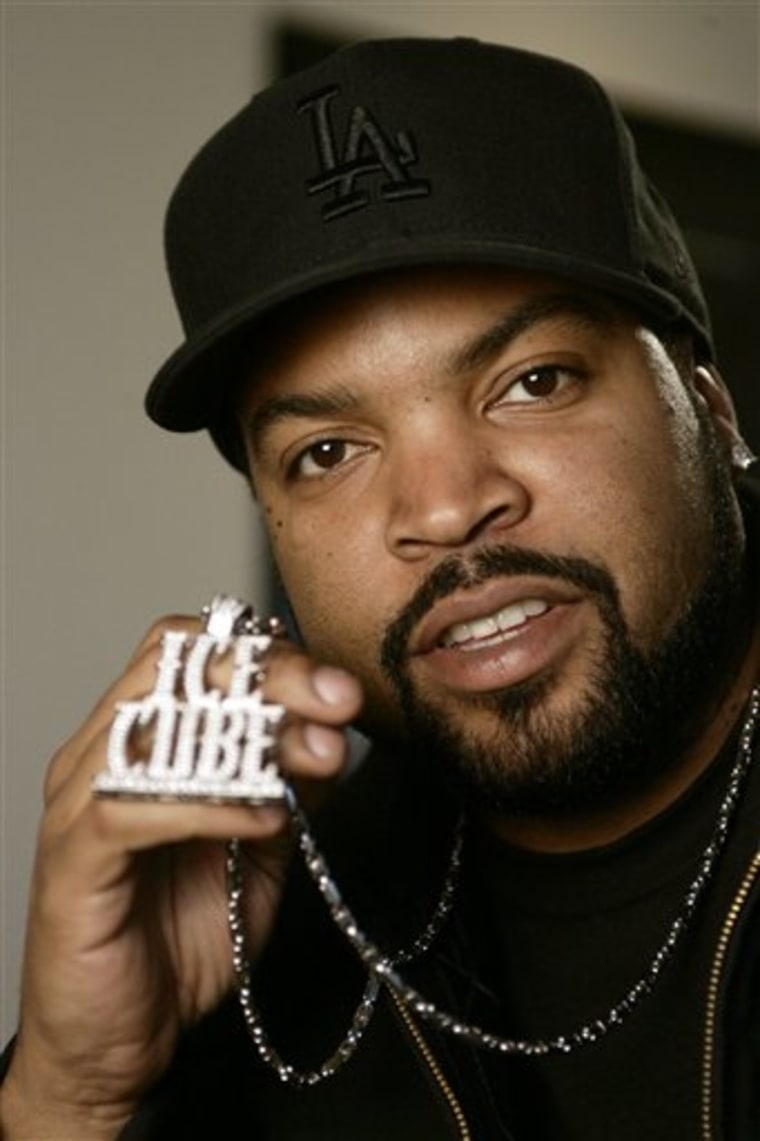 Ice Cube gets back to his roots with new CD
