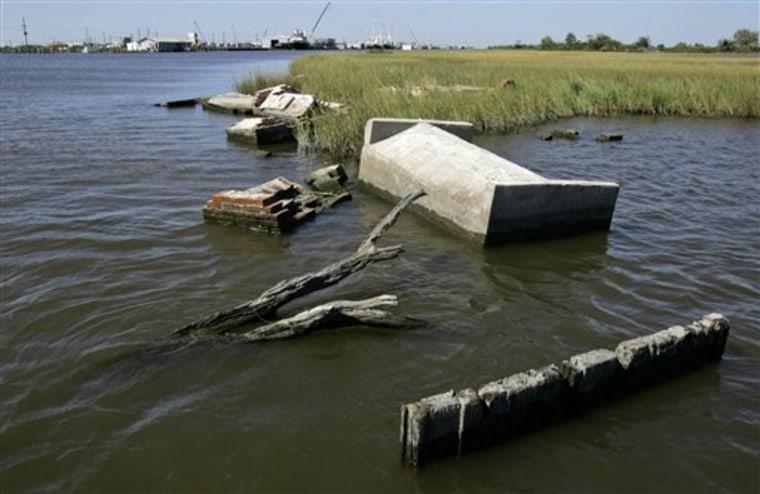 Katrina Oil Canals
