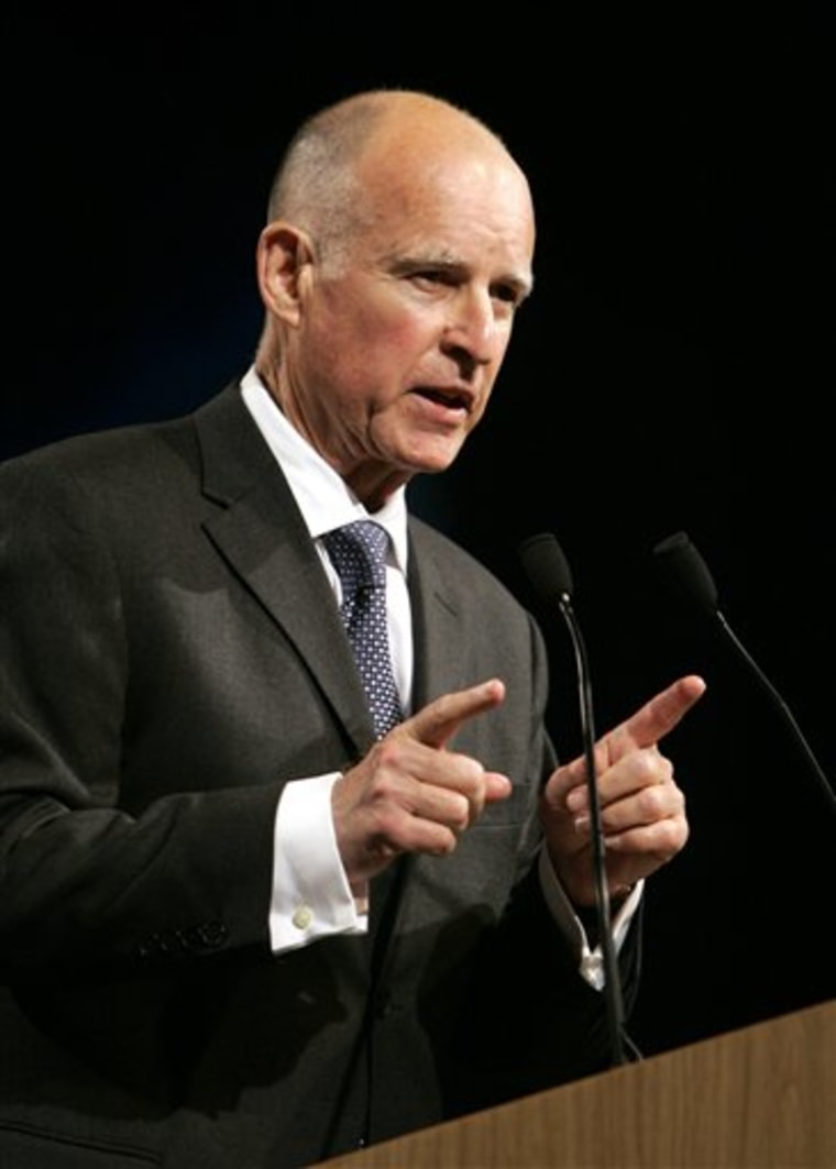 California Governors Race Jerry Brown
