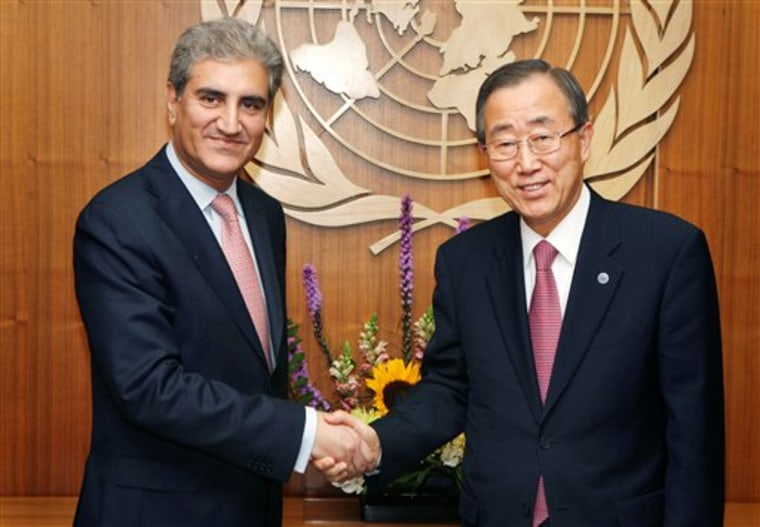 United Nations Pakistan Foreign Minster