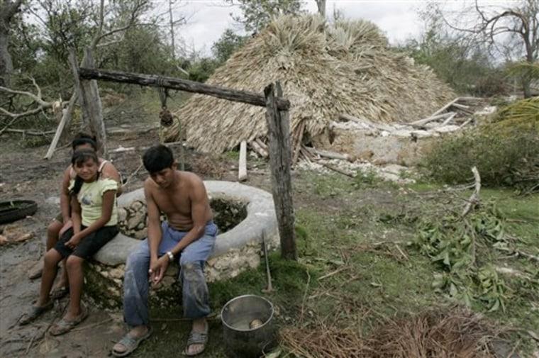 Mexico Hurricane Dean