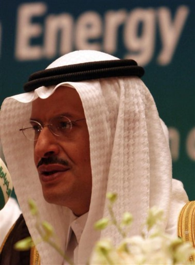Mideast Saudi Oil Summit