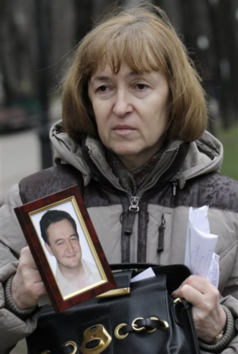 Russia Lawyer's Death