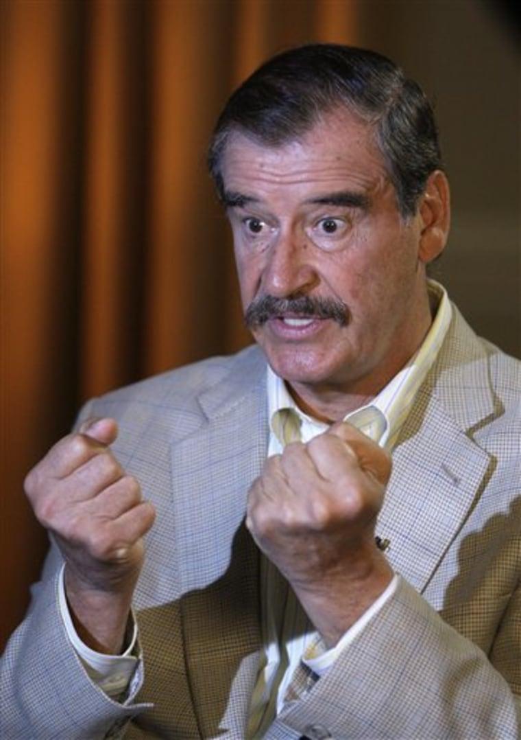 Drug War Vicente Fox