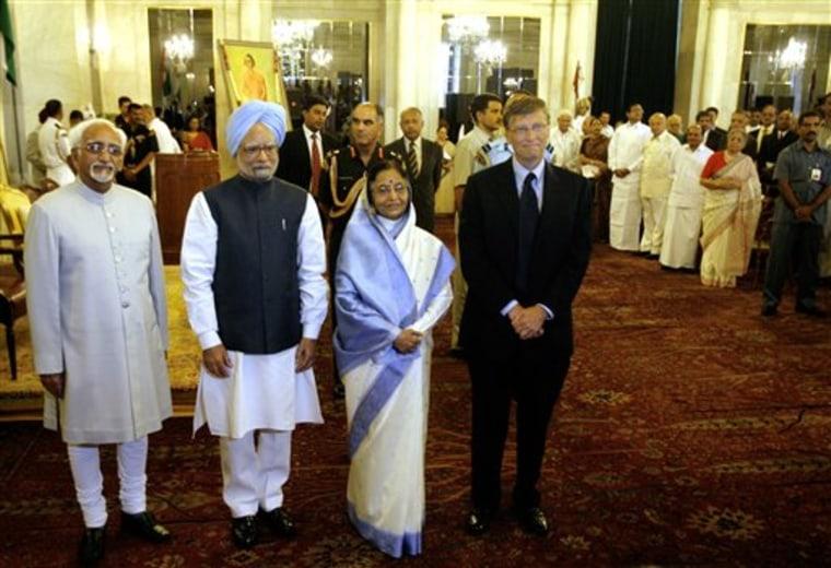 India Bill Gates