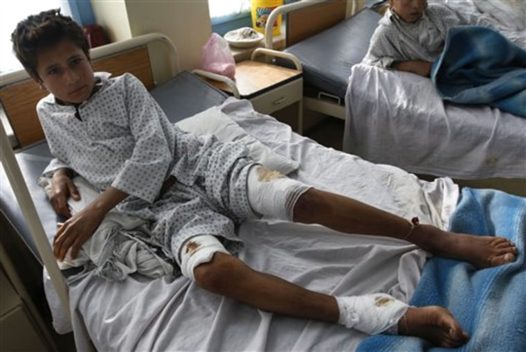 Afghan Bombing Aftermath
