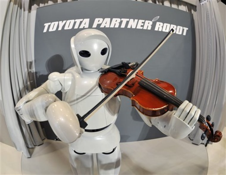 APTOPIX Japan Toyota Robot
